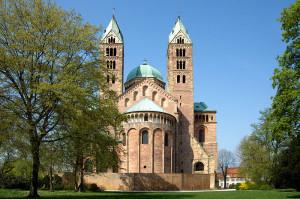 Kaiserdom in Speyer - Sehenswürdigkeiten am Rhein