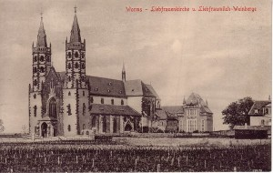 Wormser Liebfrauenmilch - Sehenswürdigkeiten am Rhein