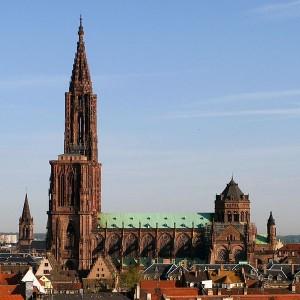 Straßburger Münster - Sehenswürdigkeiten am Rhein