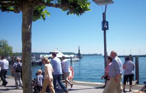 Konstanz - Rhein Radweg Etappen